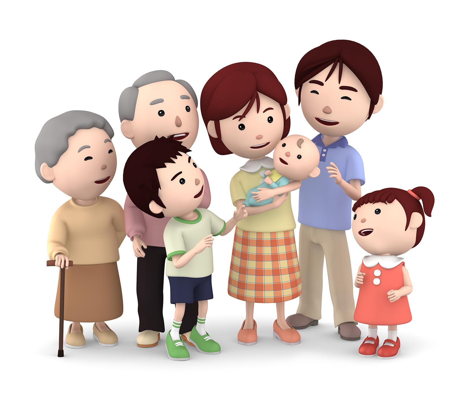 家族信託のイメージ